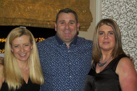 Sandra kelleher, Dave Carey and Sheila Walsh.