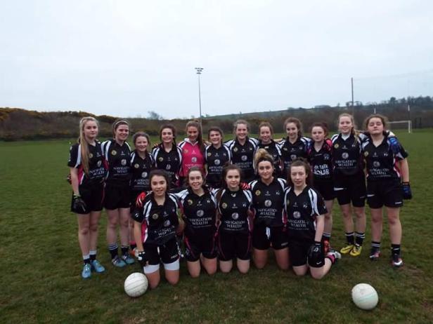 Midleton U 16 Ladies Football Team