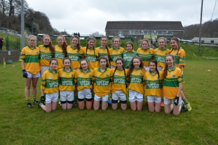 Glanmire U 16 Ladies Team