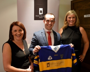Trish Breenan Chairperson, Seán McCarthy Fota Resort Manager, Liz Ahern Secretary