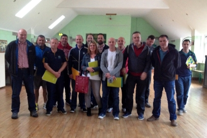 coaches/mentors who took part in the child protection coarse
