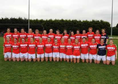 Cork Ladies' Football Senior Team Round 1 Munster Championship 2106