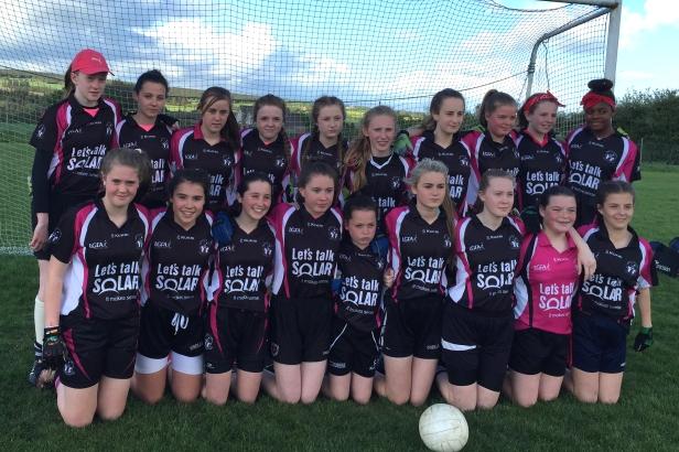 Midleton U 14 Ladies East Cork U 14 C League Winners 2016