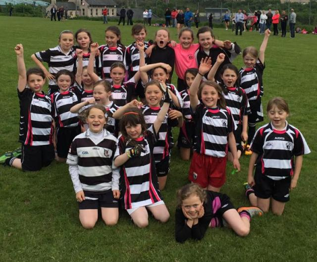 Midleton Ladies' Football U 10 Team