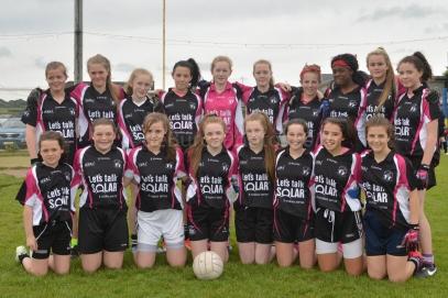 Midleton U 14 Girls into the County C Final