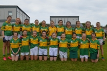 St Michaels U 14 Girls defeated by Midleton in the U 14 County C semi Final