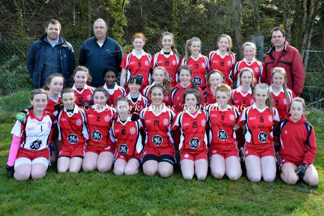 Inch Rovers U 14 Panel who contest The A U 14 County Final on Monday next