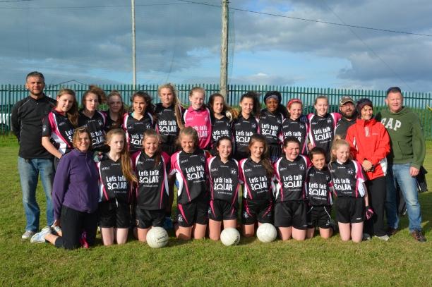"Midleton Ladies U 14 ""C"" County Champions 2016"