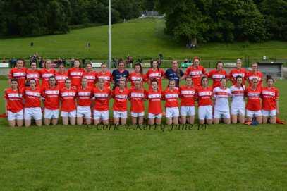 Cork Ladies'Football senior Team 2016