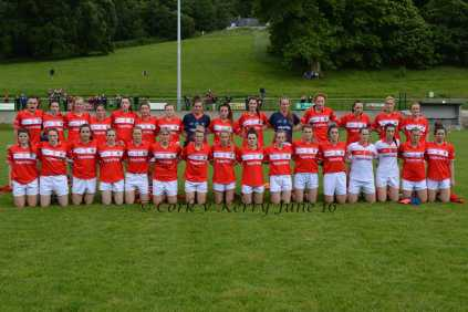 Cork Ladies'Football senior Team 2016