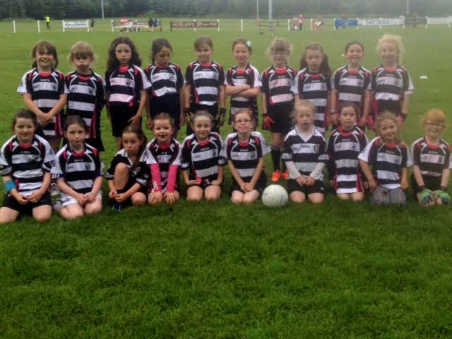Midleton Ladies Football U 8 Girls