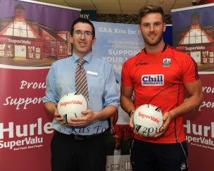 John Cremin (Hurley's SuperValu Midleton and Eoin Cadogan Cork Inter county Star