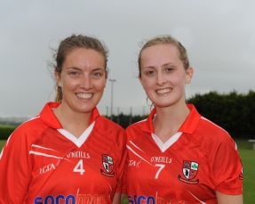 Leanne Woods and Caoilinn Hickey who are on the Imokilly senior team for 2016