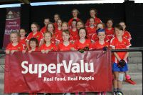 Lisgoold/ Leamlara Girls who attended the Cork Ladies Football Summer Camp in Midleton this week.