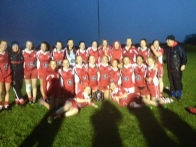 INCH ROVERS U16 EAST CORK CHAMPIONS PANEL WITH MENTORS JAMES MAUNSELL &SHEILA DENNEHY SCANLON