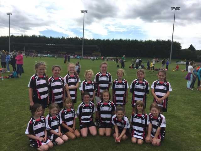 Midleton U 10 girls who played in the Blitz in Fermoy