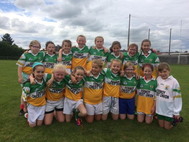 Bride Rovers U10 Girls attending Fermoy Blitz