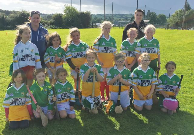 photo of Bride Rovers  U9 Camogie Team)