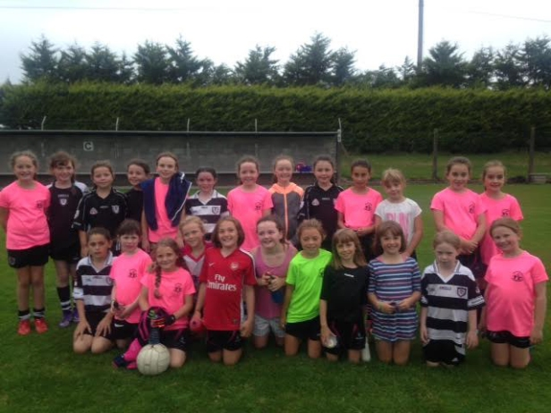 Midleton U10's who played Lisgoold in the League Playoff.