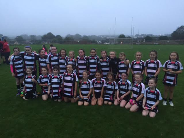 U10 Midleton Girls who defeated Glanmire