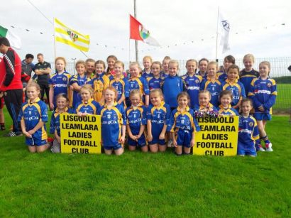 Lisgoold girls at the \Passage west Blitz