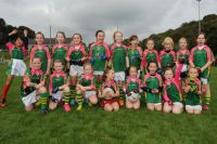 Glanmire U 8 Girls at the East Cork Blitz