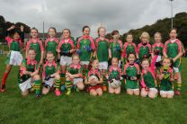 Glanmire U 8 Girls at the East Cork Blitz