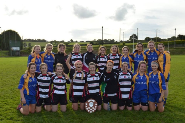 . Combined teams of Lisgoold and Midleton after the final.