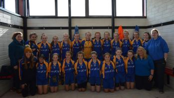 Lisgoold/Leamlara U14 Team with Coaches