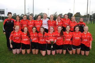 "WatergrassHill Minor ""C"" East Cork Ladies' Football Champions 2016"