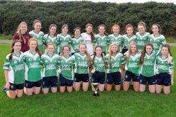 """Aghada East Cork Minor """"B"""" Ladies Football Champions 2016"""