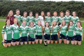 "Aghada East Cork Minor ""B"" Ladies Football Champions 2016"