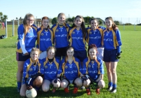 Lisgoold/Carrigtwohill Team at Coral Leisure Junior