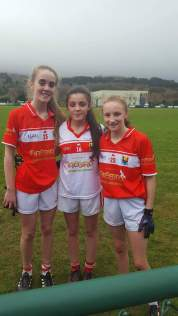 glanmire players playing withe the Cork U14 team