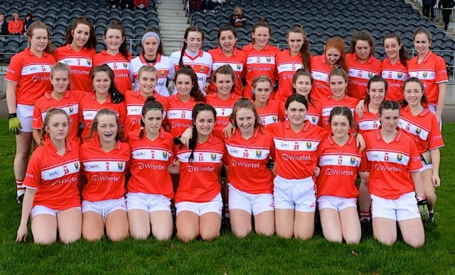 Cork under 16 team v Tipperary Munster 2017 Championship