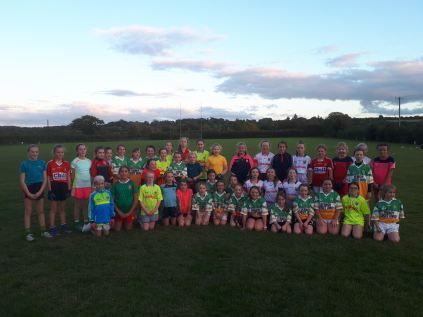 U10's & U11's Bride Rovers girls