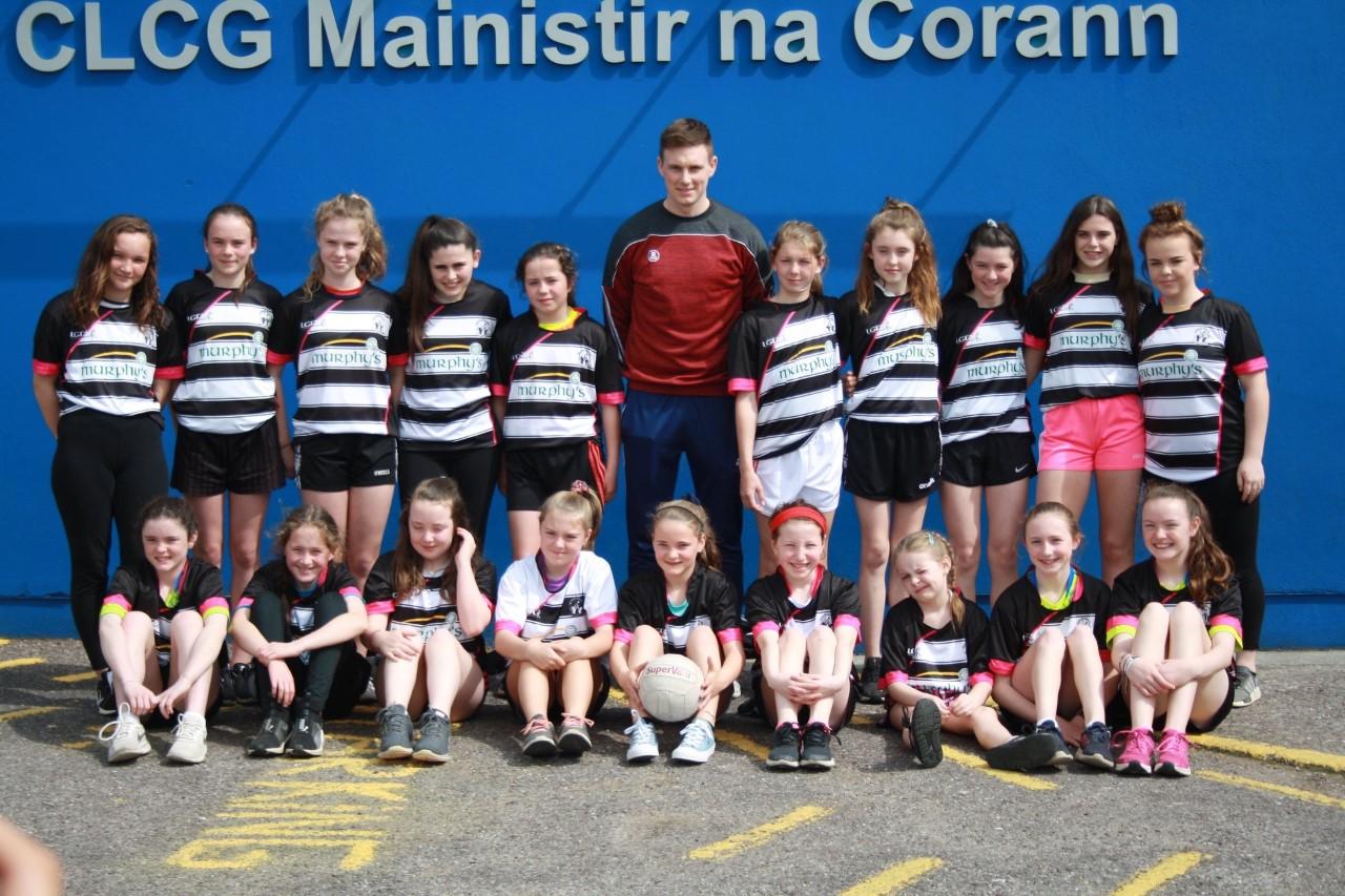 U16 Girls MIDLETON 2 - 2 SPRING RAMBLERS